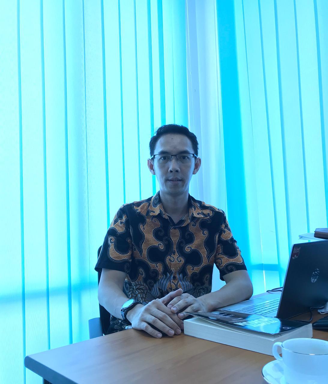 Praktisi Hukum Kota Palembang, Ferdiyan Ganesha SH