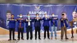 Rakorda Partai Nasdem di Banyuasin