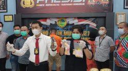 Satuan Reserse Narkoba Polrestabes Palembang rilis kasus narkoba