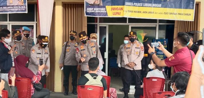 Demi memastikan kesiapan PPKM Mikro di Kota Lubuklinggau, Kapolda Sumsel, Irjen Pol Prof Dr Eko Indra Heri S MM terjun langsung ke Lubuklinggau.