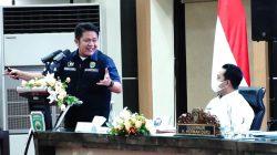 Gubernur H Herman Deru Pimpin Pertemuan Advokasi Rencana Pemanfaatan Pelabuhan Tanjung Carat