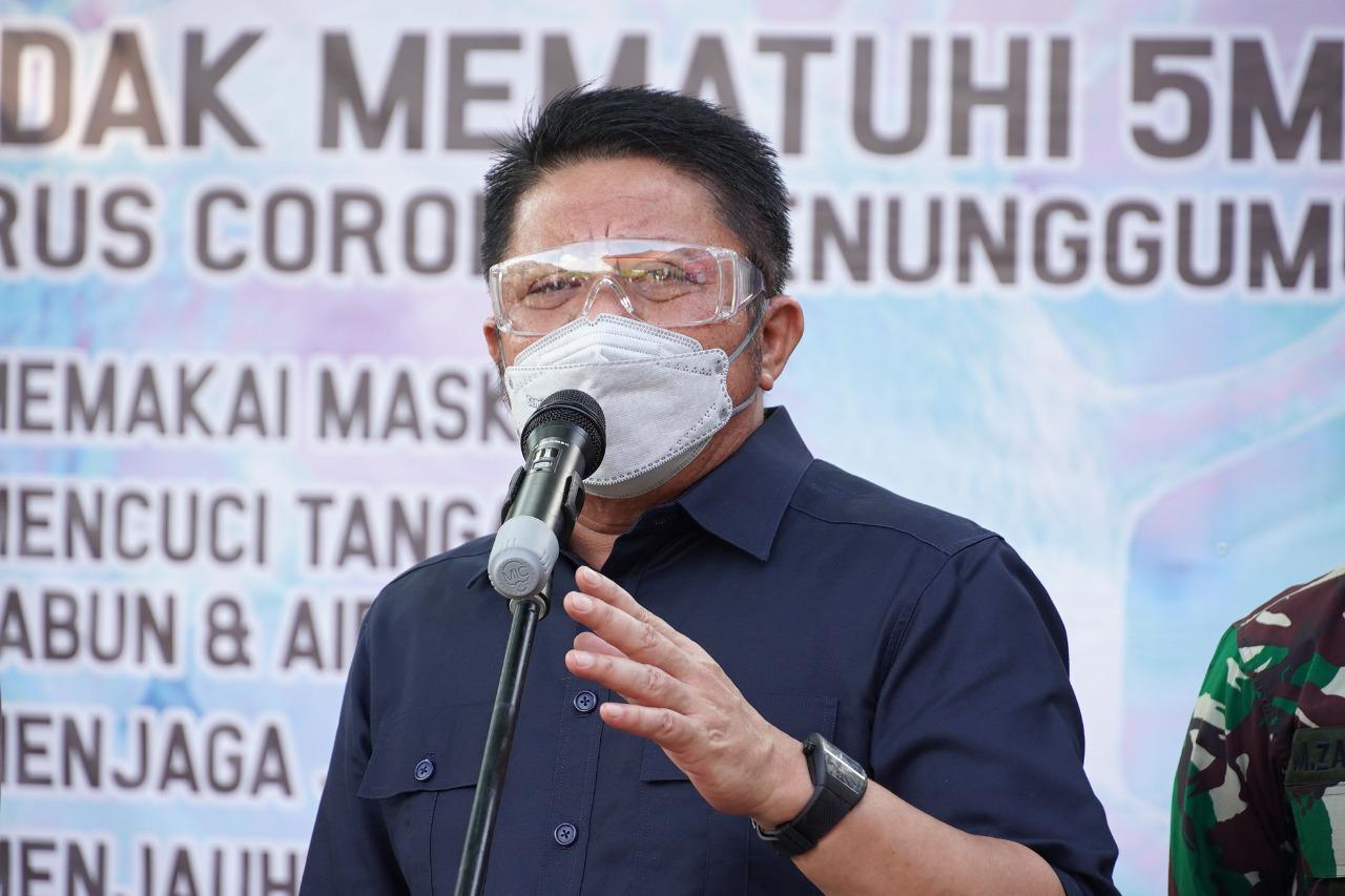 Gubernur Sumsel H Herman Deru