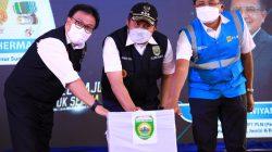 Gubernur Sumsel H Herman Deru Resmikan Jaringan Listrik di Tiga Desa Pelosok Muara Enim
