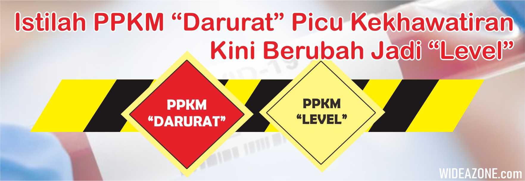 Ilustrasi PPKM Darurat-Level