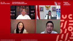 Keterangan pers tentang Bulan Kemerdekaan dan Rumah Digital Indonesia (RDI), Jumat (30/07) secara virtual