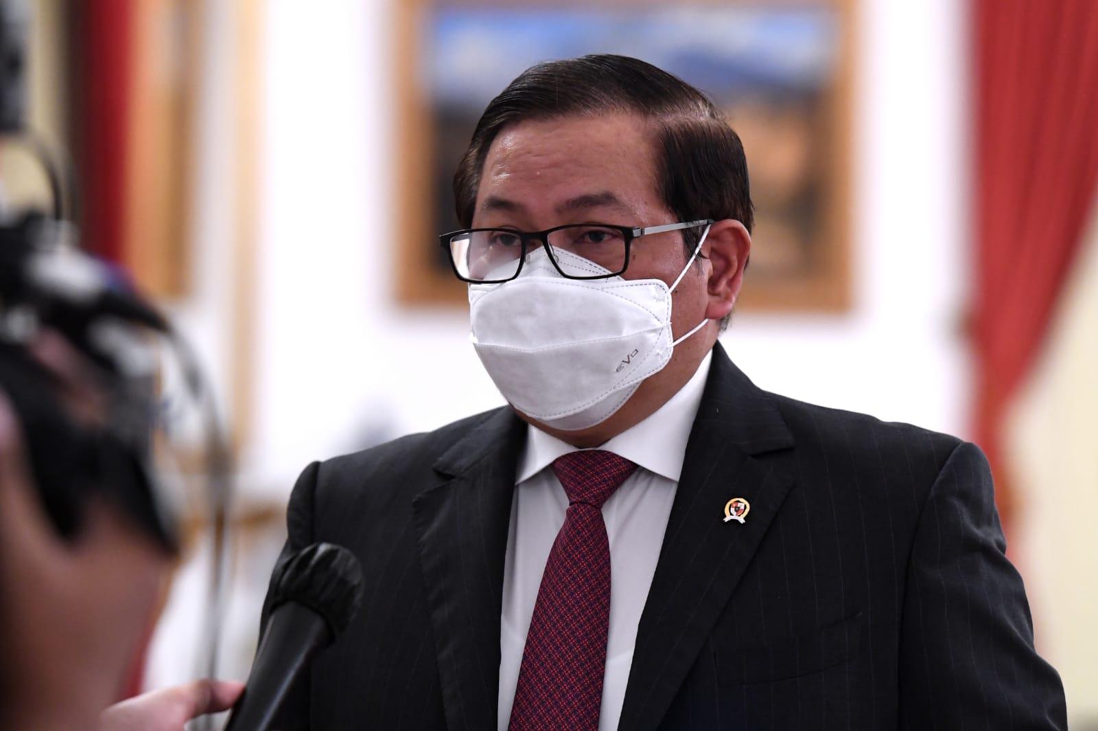 Sekretaris Kabinet (Seskab) Pramono Anung
