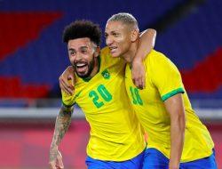 Richarlison Andrade Sumbang Hat-Trick untuk Brazil