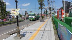 Kawasan Pedestrian Tanjung Enim yang dikembangkan PT Bukit Asam Tbk