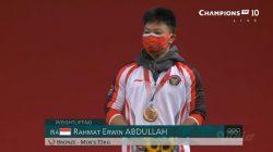 Olimpiade Tokyo: Rahmat Erwin Abdullah Persembahkan Perunggu