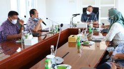Rapat Koordinasi Pelaksanaan Pengadaan Tanah Lokasi Jalan Tol Musi Banyuasin Jambi Raya (MUBAJAYA), Jumat (30/7)