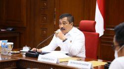 Kabareskrim Polri Komjen Agus Andrianto menginstruksikan kepada seluruh jajarannya untuk menindak tegas adanya informasi palsu atau hoaks yang mengganggu upaya Pemerintah dalam penanganan COVID-19 dalam Rapat Virtual di Mabes Polri, Jakarta Selatan (20/7).