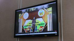 Pemerintah Kota Palembang meraih penghargaan Kota layak Anak (KLA) dari Kementerian PPPA, Kamis (29/7).