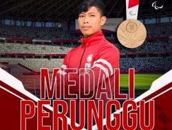 Paralimpiade Tokyo: Sprinter Indonesia Sapto Yogo Raih Medali Perunggu