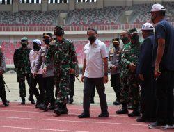 Jelang PON XX Papua, Menpora Tinjau Stadion Lukas Embe