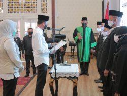 Ridwan Nahkodai Ketua Baznas Palembang, ini Pesan Harnojoyo