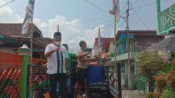 PKB Muaraenim Semprot Disinfektan di Kelurahan Pasar
