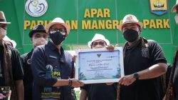 desa wisata (dewi) Apar di kota Pariaman, Sumatera Barat (Sumbar) menjadi lokasi pertama yang dikunjungi dan dinilai dengan didasari pada tujuh kategori lomba serta klasifikasi dewi. (Photo: Kemenparekraf)