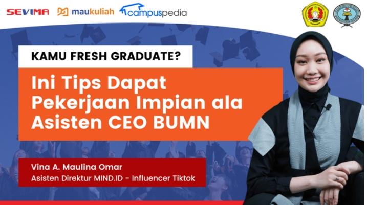 Vina Maulina Omar, Asisten Direktur di Holding BUMN Pertambangan sekaligus influencer dengan 2,7 Juta Follower di Tiktok