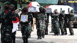 Tindakan Brulatal Kelompok Separatis Teroris menyebabkan gugurnya 4 personil prajurit TNI Angkatan Darat