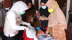 Wakil Walikota Palembang Fitrianti Agustinda menyambagi Puskesmas Kelurahan Silaberanti, Kecamatan Jakabaring, Palembang, Jumat [24/9].