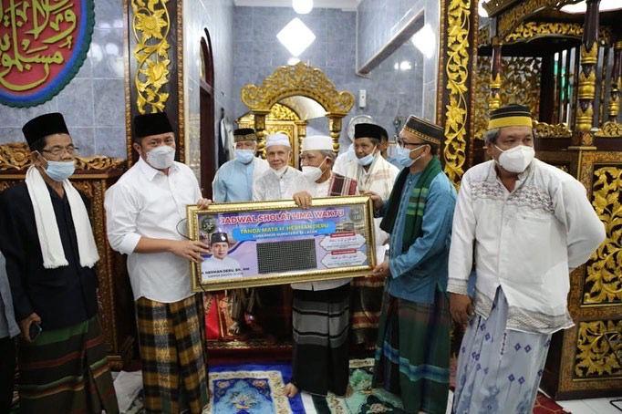 Safari Jumat di Masjid Jami' Nurul Hidayah Sekip Bendung