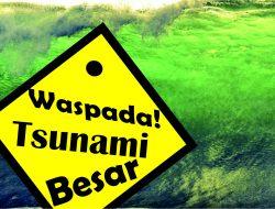 Waspada! Tsunami Besar Mengintai Pesisir Selatan Jawa
