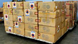BNPB akan mengirimkan 350 ribu masker pada tempat-tempat penyelenggaraan di wilayah Kabupaten Mimika