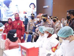 Kapolri Harap Sinergi Mahasiswa untuk Akselerasi Vaksinasi Berlanjut