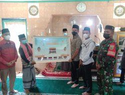 Safari Jumat, Bupati PWA Berikan Bantuan untuk Dua Masjid