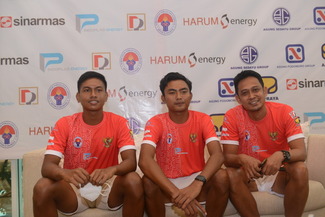 TIm tenis beregu putra Indonesia (foto: PP PELTI)