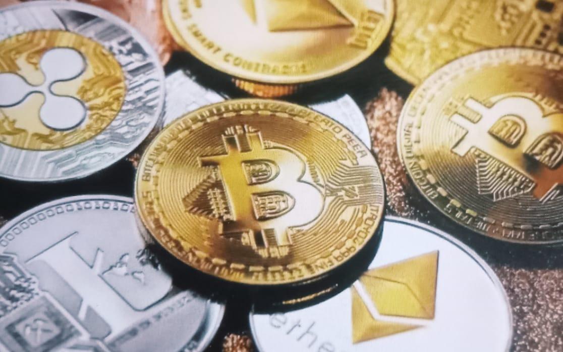 Ilustrasi Mata Uang Kripto