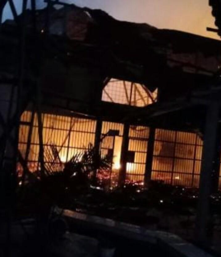 Lapas Tangerang Terbakar, 40 Tahanan Tewas