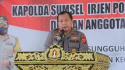 Kapolda Sumsel, Irjen Pol Drs Toni Harmanto melakukan kunjungan kerjanya ke Polres Ogan Ilir (OI), Senin (13/9) guna melakukan pengecekan secara langsung di Polres OI.