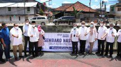 Grup Astra Palembang menyerahkan bantuan berupa 1000 Paket Sembako untuk masyarakat yang terdampak COVID-19, yang diserahkan secara simbolis kepada Walikota Palembang H Harnojoyo . [15/9]