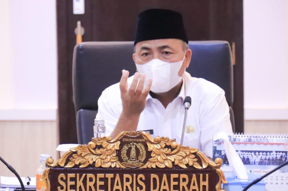 Sekretaris Daerah Musi Banyuasin, Sekda Drs H Apriyadi MSi