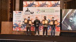 PT PLN (Persero) meraih enam penghargaan pada ajang Nusantara CSR Award yang diselenggarakan The La Tofi School of CSR di Bali Room Hotel Indonesia Kempinski, Jakarta, pada Rabu (15/9).