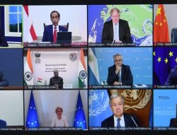 Presiden Jokowi Hadiri Pertemuan MEF 2021 secara Virtual