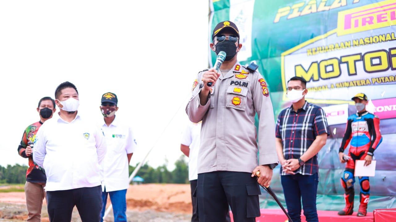 Kabupaten Musi Banyuasin (Muba) menjadi tuan rumah gelaran perdana Kejuaraan Nasional (kejurnas) Motoprix Regional A Sumatera Selatan Putaran IlI Sumatera Selatan Piala Presiden RI 2021, event bergengsi pasca pandemi ini dimulai di Sirkuit Internasional Skyland Sekayu, Kabupaten Musi Banyuasin, Sabtu (18/9/2021).