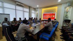 14 Personel Polri dari berbagai daerah di Indonesia melakukan kegiatan Bawah Kendali Operasi (BKO) di Kepolisian Daerah Sumatera Selatan (Polda Sumsel).