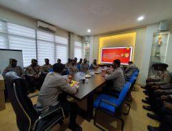 14 Personel Polri Laksanakan Kegiatan BKO di Polda Sumsel