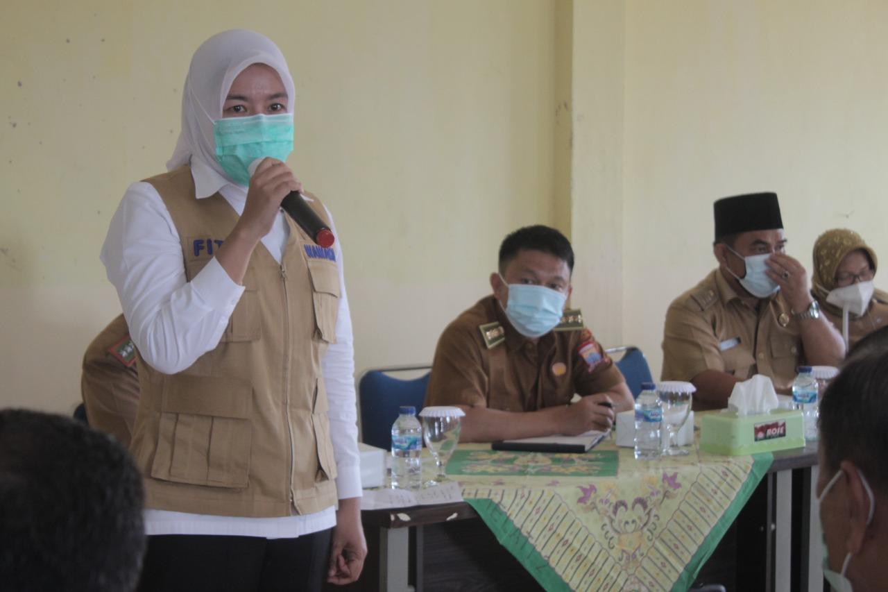 Wakil Walikota palembang Fitrianti Agustinda serap aspiraasi warga 26 Ilir Palembang