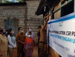 PLN Gratiskan Biaya Sambung 1373 Keluarga di Desa Terpencil