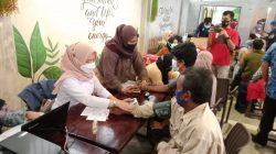 Pemerintah Kota Palembang melalui unsur tiga Pilar terus melakukan akselerasi herda immunity melalui vaksinasi massal