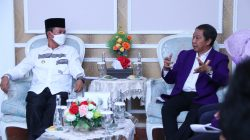 Ketua PB PDHI DR Drh M Munawarah MM Rabu [14/10/2021] bertemu dengan Walikota Palembang H Harnojoyo.