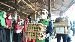 Puncak rangkaian peringatan hari jadi [HUT] ke 21 Persatuan Istri Karyawan Bukit Asam [Periska BA] dibalut dengan tali asih.
