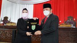 Dewan Perwakilan Rakyat Daerah Provinsi Sumatera Selatan [DPRD Sumsel] menyetujui perubahan Rencana Pembangunan Jangka Menengah Daerah [RPJMD] Pemerintah Provinsi Sumsel tahun 2019-2023.