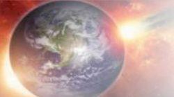 Ilustrasi Matahari dan Bumi