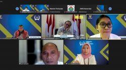 Monitoring dan Evaluasi Keterbukaan Informasi Publik Tahun 2021 yang diselenggarakan oleh Komisi Informasi Pusat (KIP