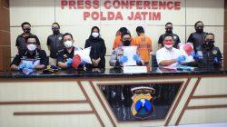 Polda Jawa Timur berhasil menggagalkan penyelundupan 6Kg sabu