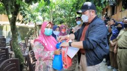 Gubernur Sumsel H Herman Deru Tinjau Korban Banjir di Tiga Desa Kecamatan Muara Jaya Kabupaten OKU
